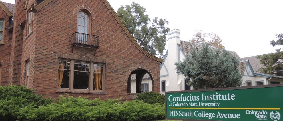 Institutos Confucianos en Estados Unidos, Propaganda política
