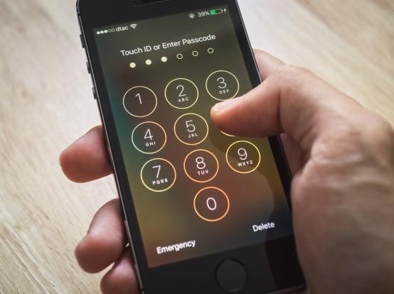 iPhone, passcode