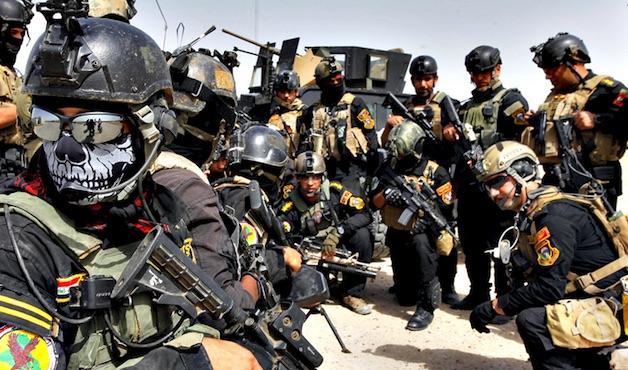 Irak, fuerzas especiales