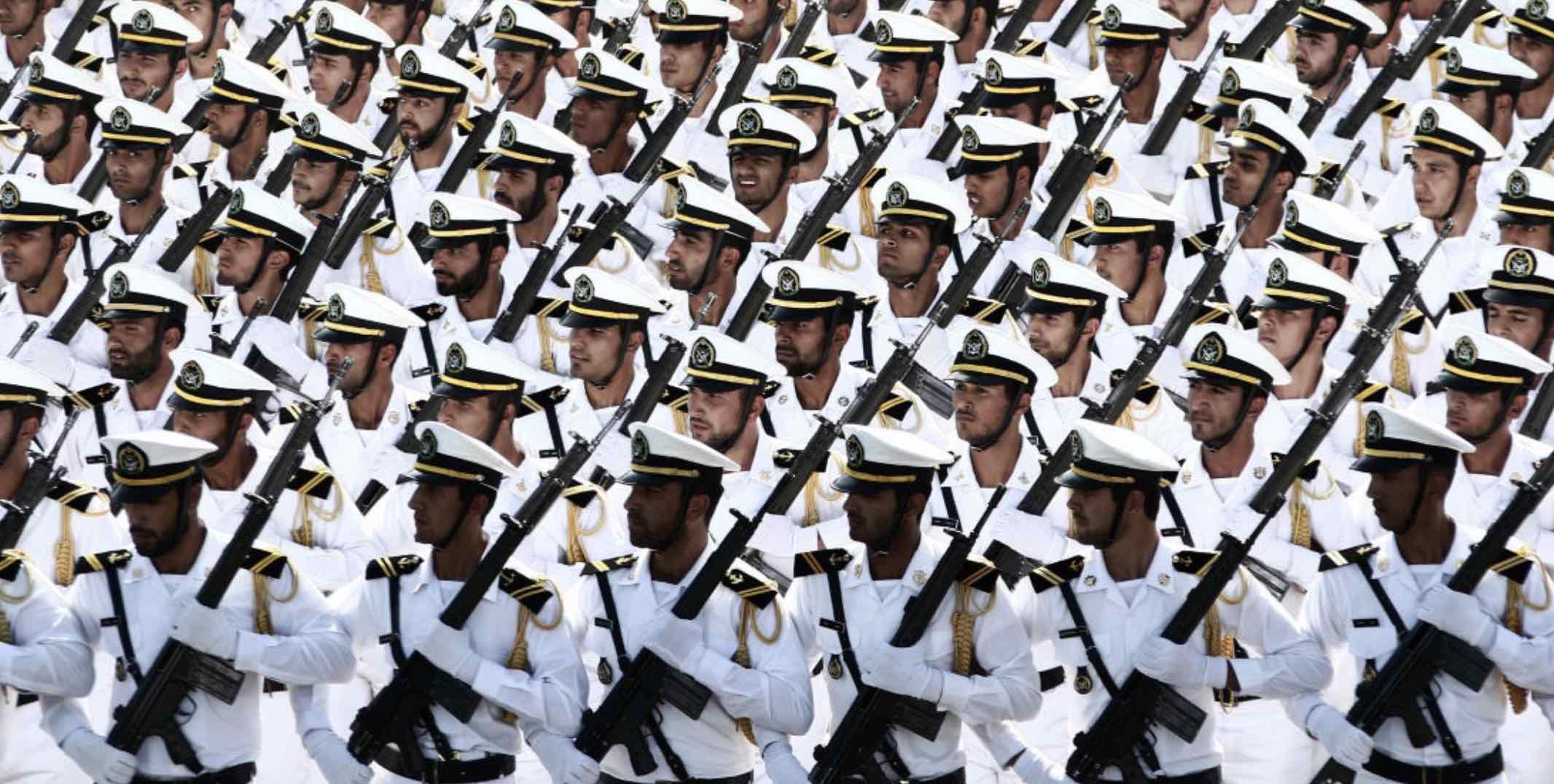 Irán, Armada
