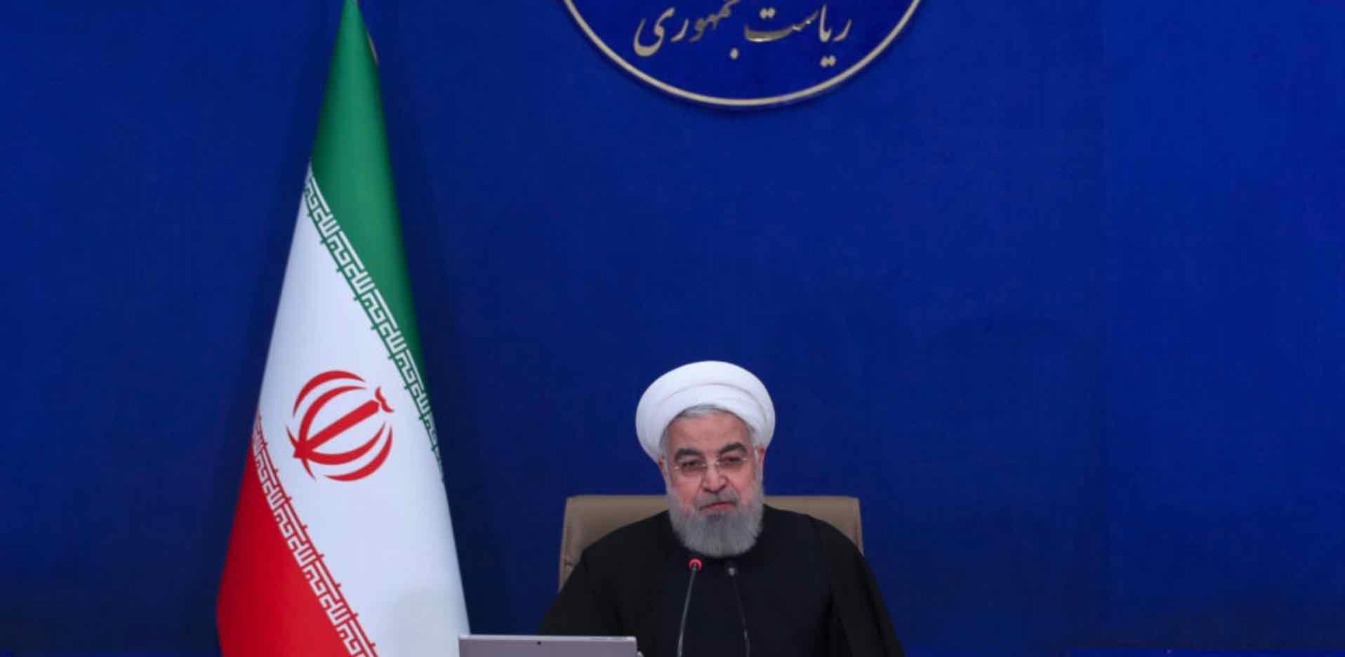 Hassan Rouhani, Irán