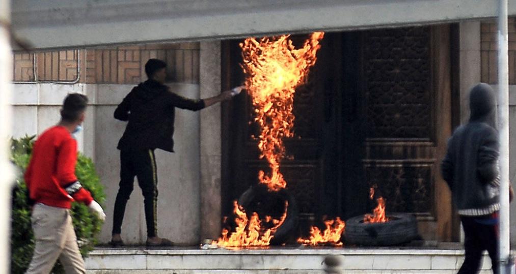 Protestas en Irán, Teherán