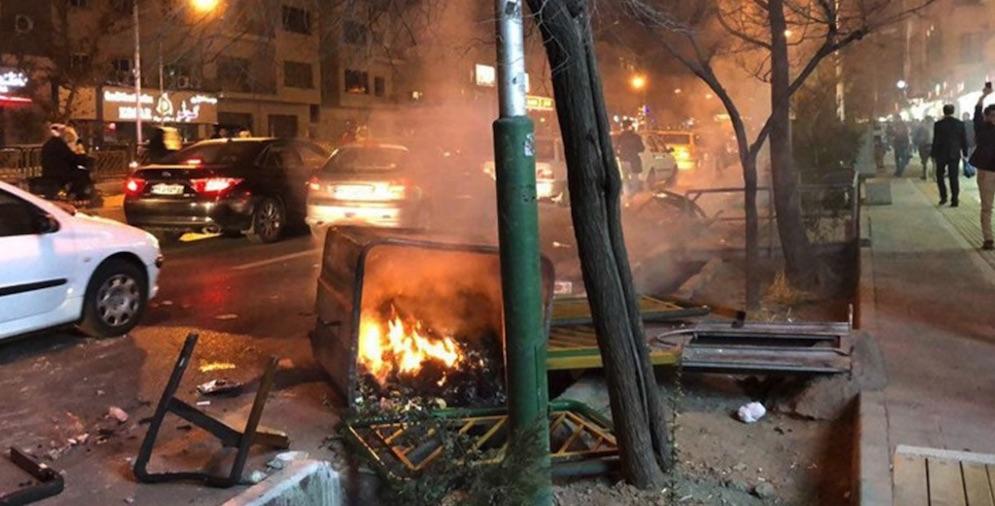Irán, manifestaciones