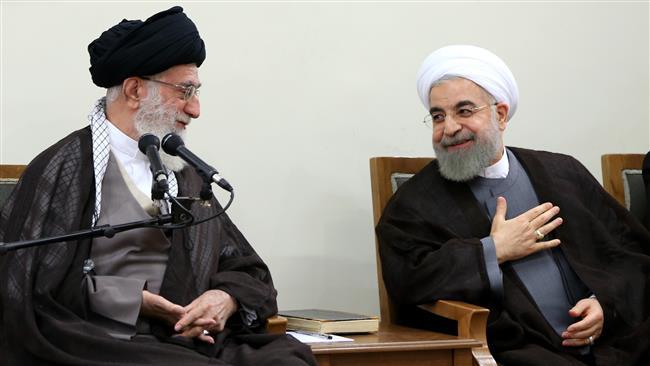 Irán, Rouhani, Khamenei