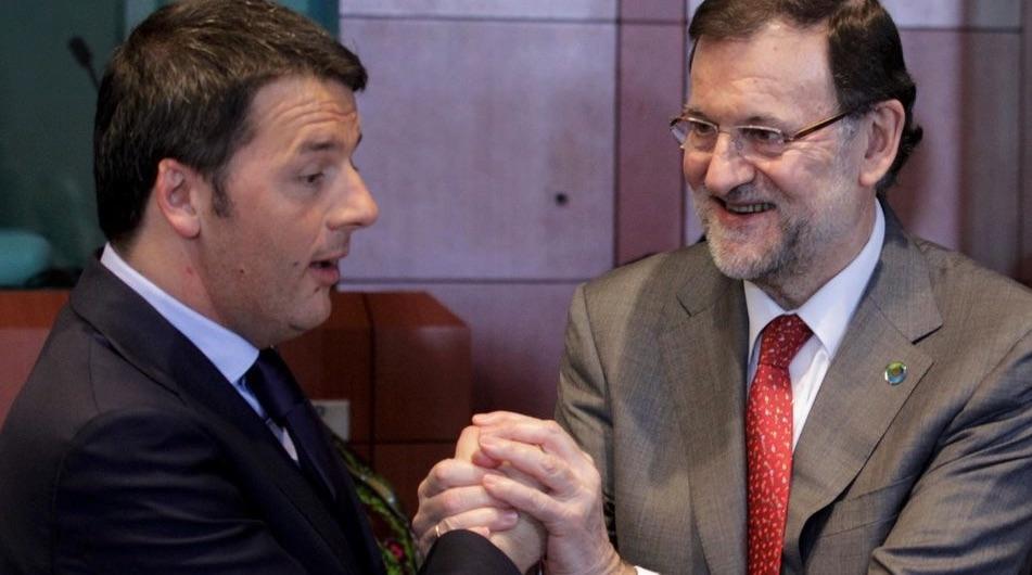 Renzi, Rajoy