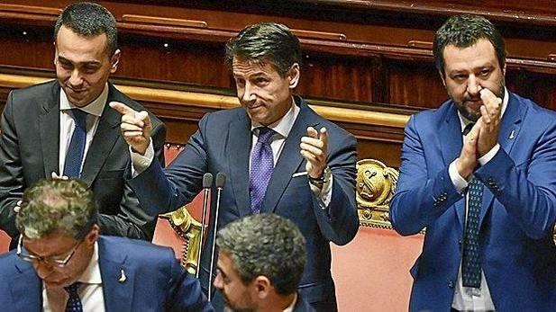 Política italiana, Salvini, Conti, Crisis italiana