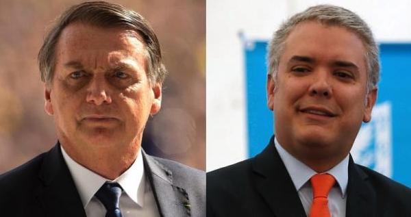 Iván Duque, Jair Bolsonaro, Brasil, Colombia