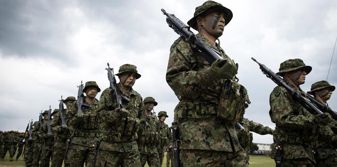 Fuerzas Terrestres de Autodefensa, Japón