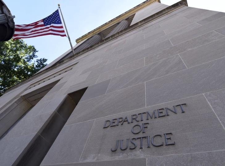 Departamento de Justicia, Estados Unidos