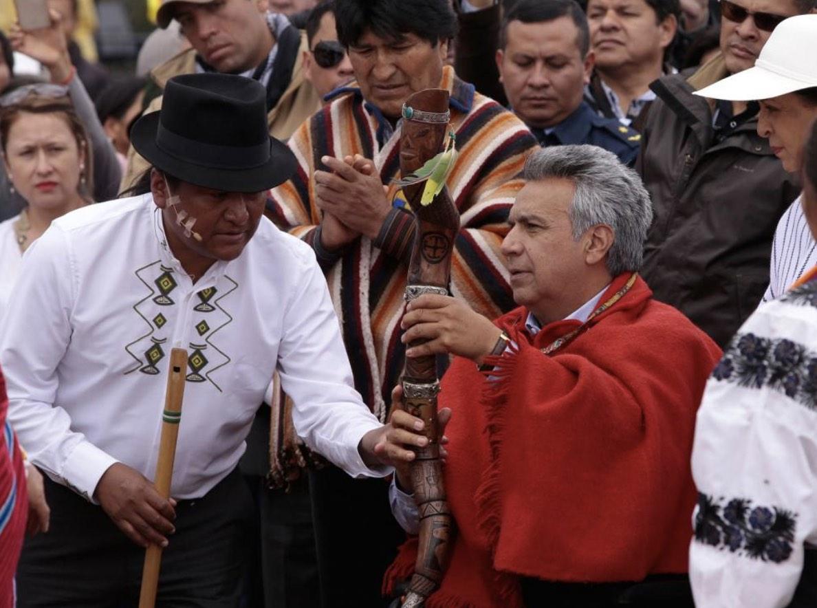 Lenín Moreno, Ecuador, Rituales, Brujería, Santería