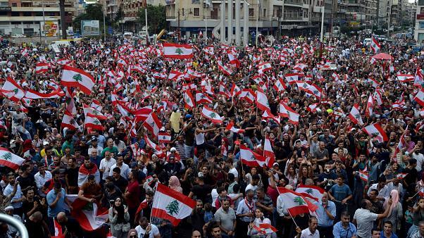 Líbano, Protestas, Corrupción, Dolarización