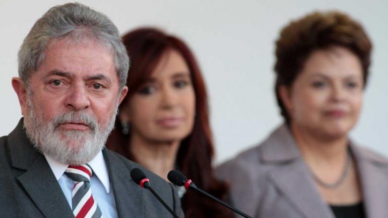Lula, CFK, Dilma
