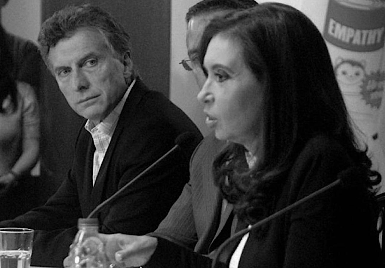 Mauricio Macri, Cristina Kirchner