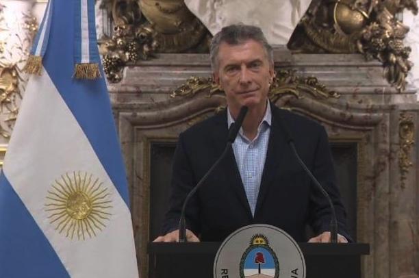 Macri, Cadena Nacional