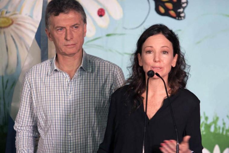 Macri y Carolina Stanley