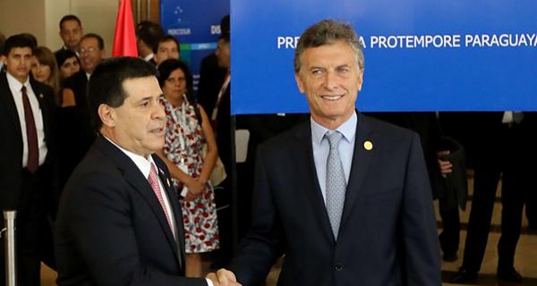 Macri y Cartes