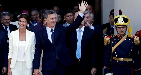 Macri en Chile