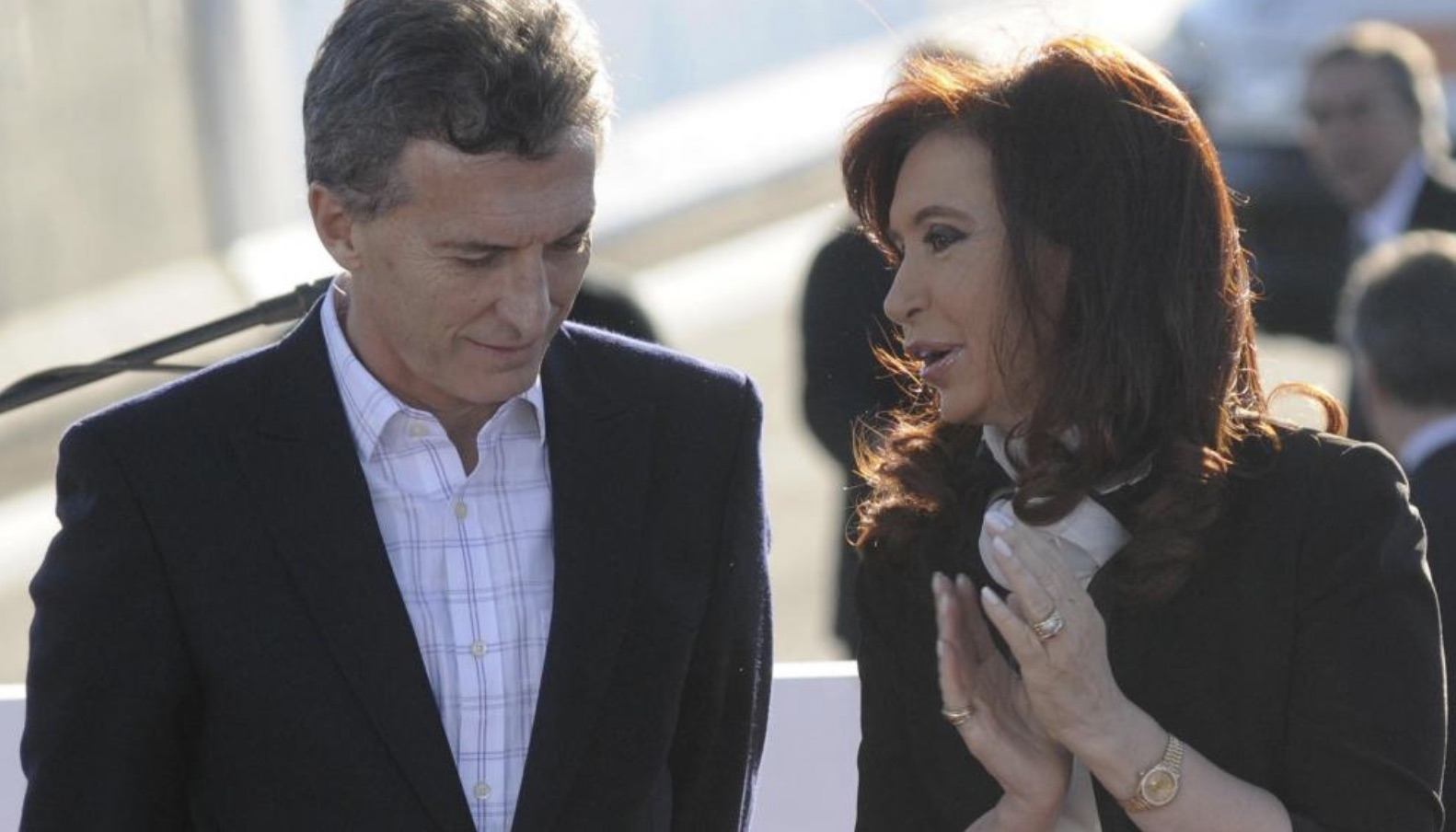 Macri y Cristina Kirchner