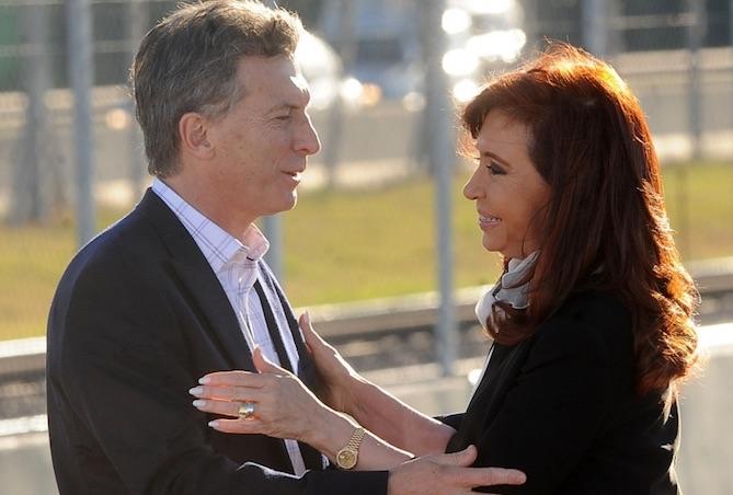 Macri, CFK