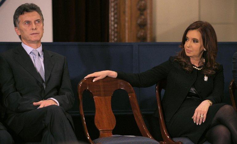 Macri, Cristina Kirchner