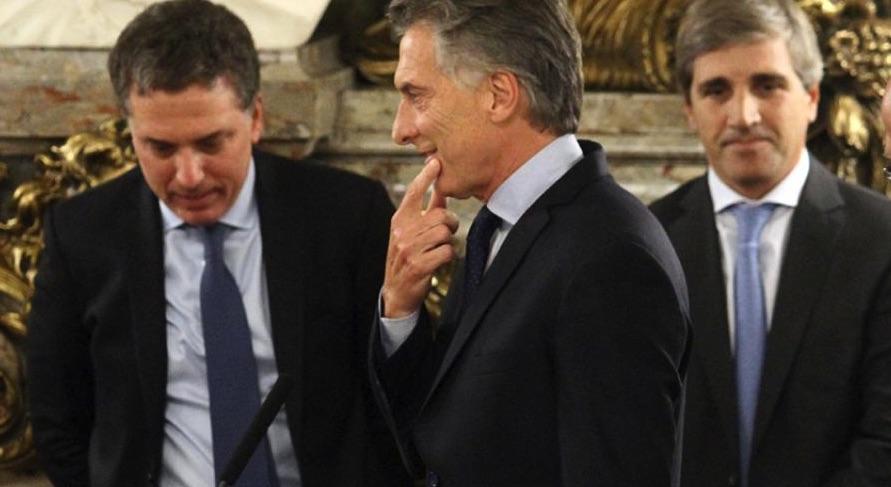Mauricio Macri, Nicolás Dujovne, Economía, Luis Caputo