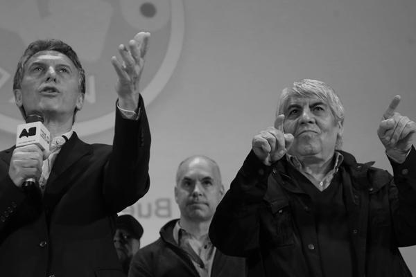 Macri, Hugo Moyano, Mafia Sindical, Peronismo