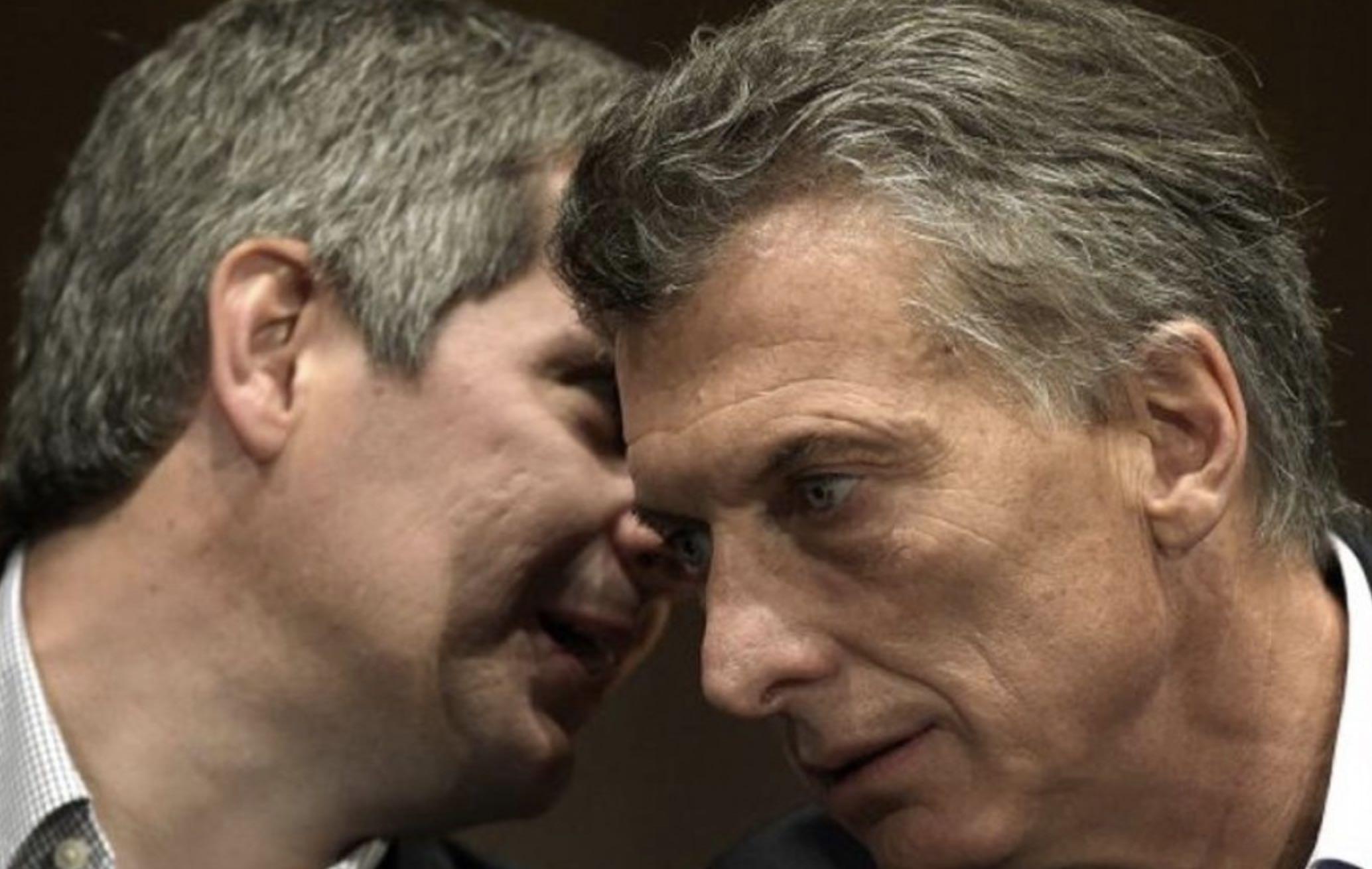 Marcos Peña aconseja a Macri