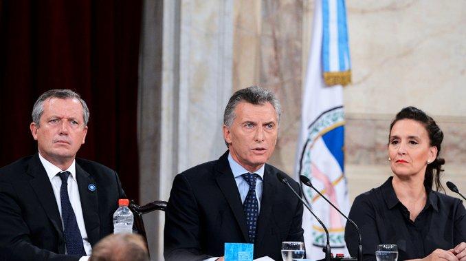 Macri, sesiones, Congreso