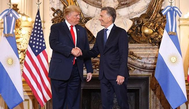 Macri y Donald Trump, G20