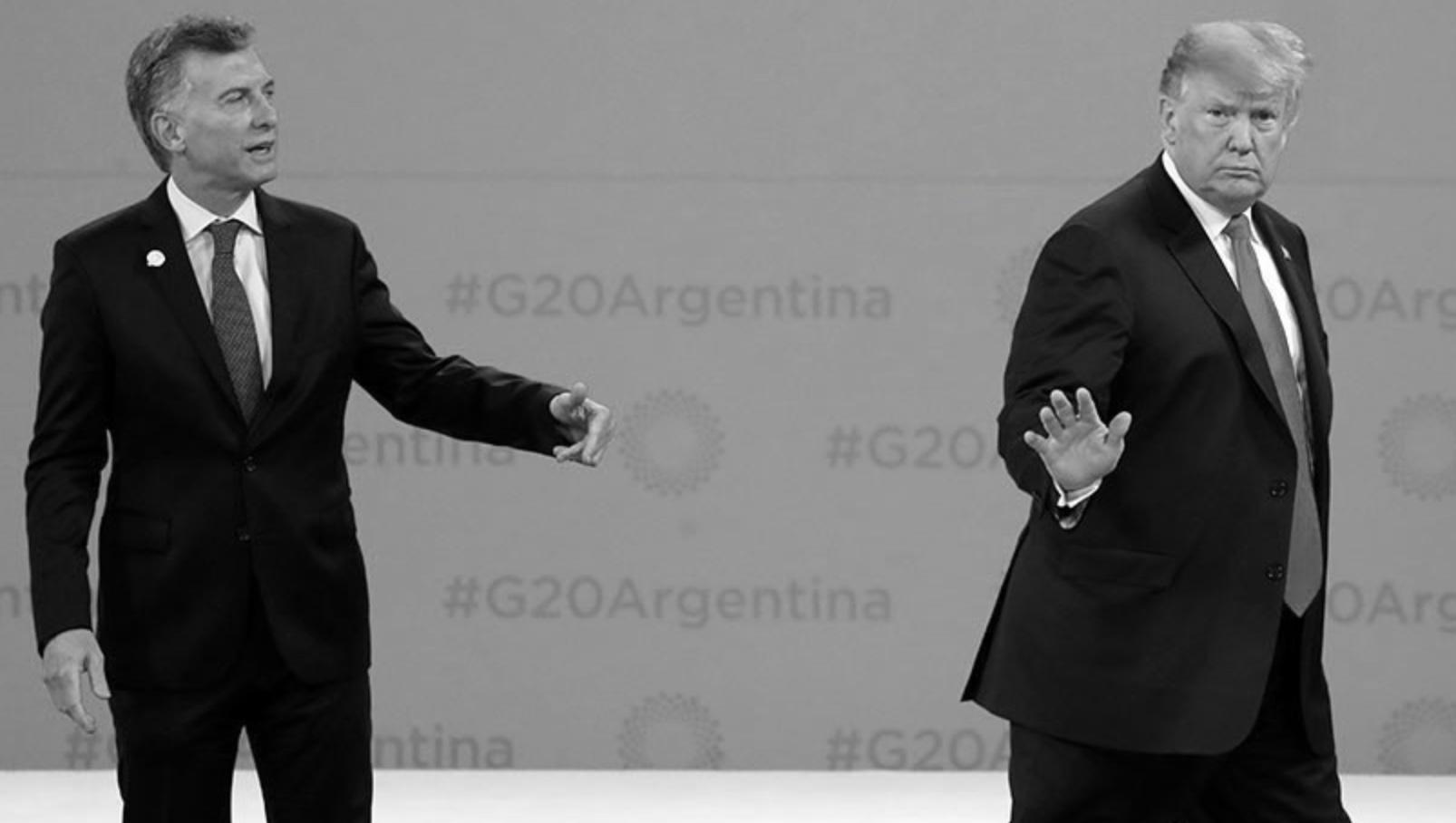 Macri y Trump, G-20