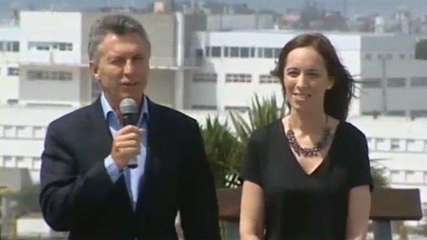 Macri y Vidal