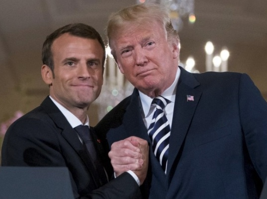 Macron y Trump