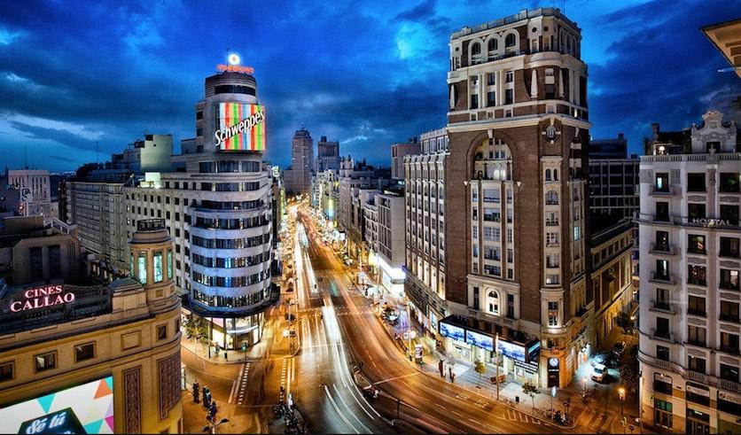 Madrid, España, Gran Vía