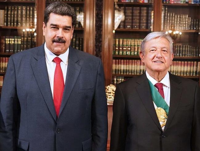 Nicolás Maduro y AMLO, López Obrador, Dictadura, Genocidio