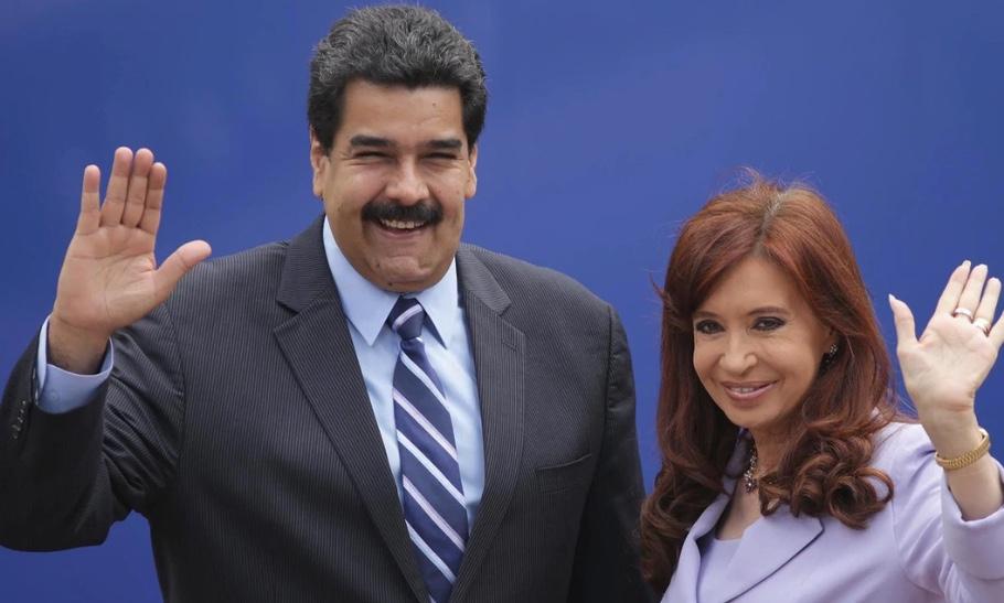 Nicolás Maduro, Cristina Kirchner, Genocidio