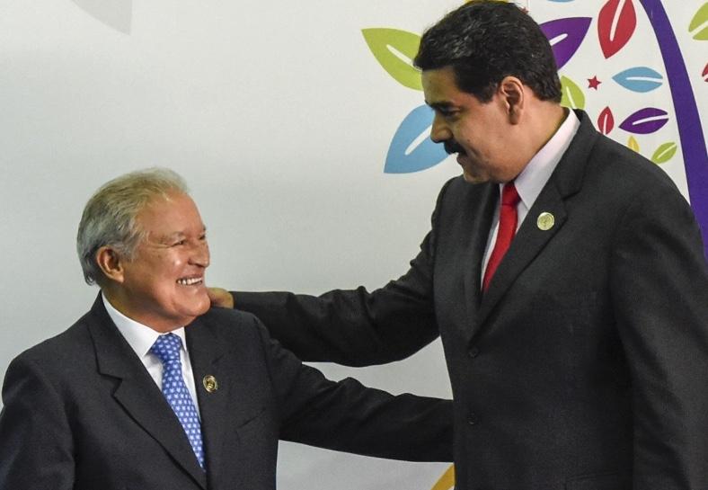 Maduro y Sánchez Cerén