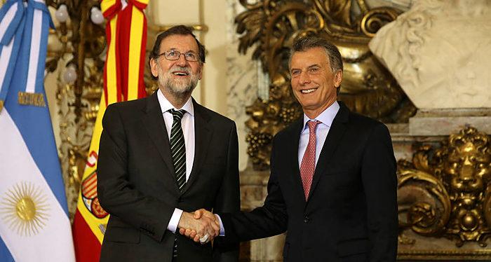 Mauricio Macri, Mariano Rajoy
