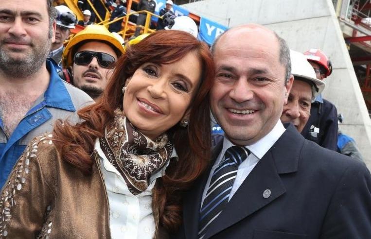 Secco, Mario y Cristina Kirchner