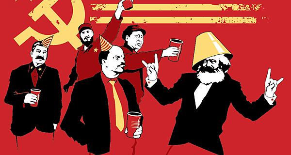 Marx, Lenin, Stalin