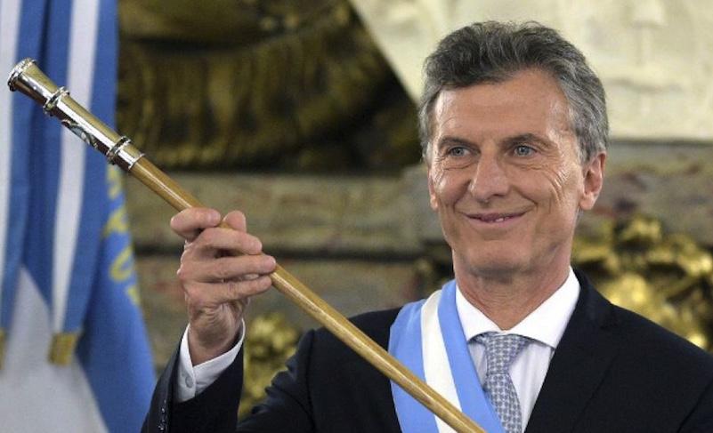 Mauricio Macri, Argentina