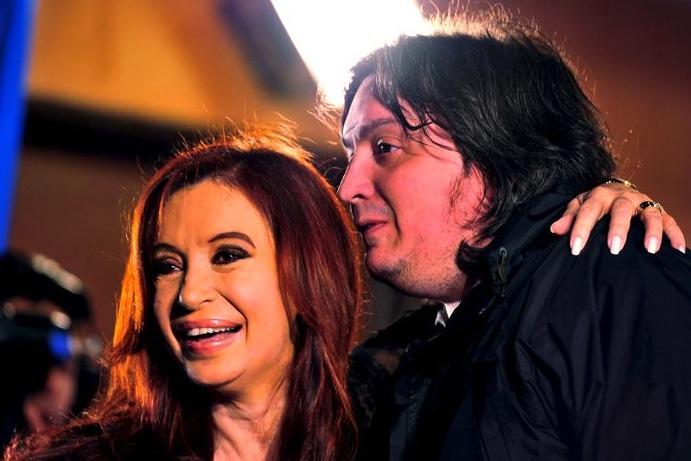 Máximo Kirchner, Cristina Fernández de Kirchner