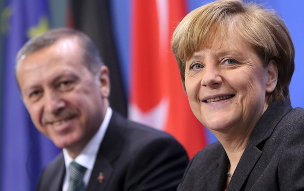 Merkel, Erdogan