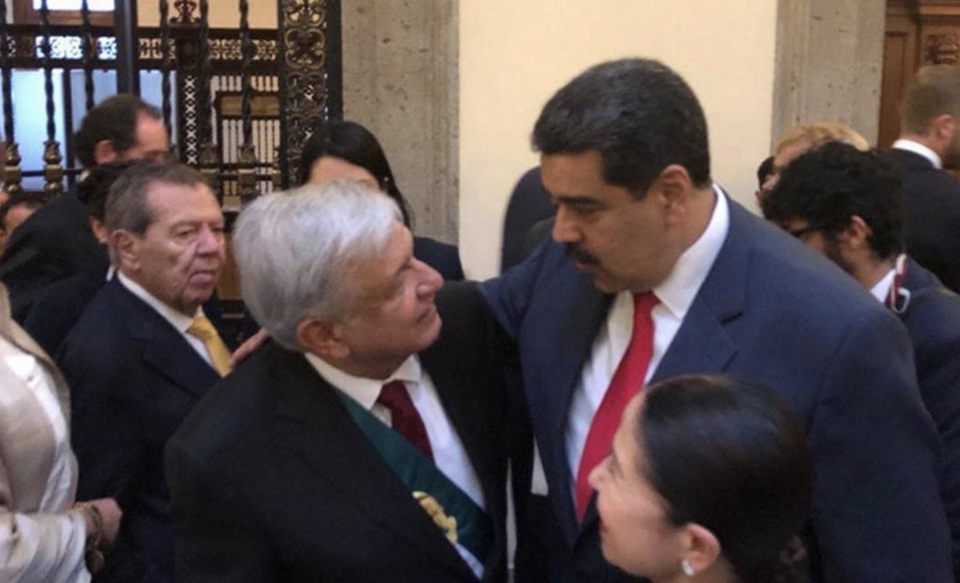 Manuel López Obrador, Nicolás Maduro