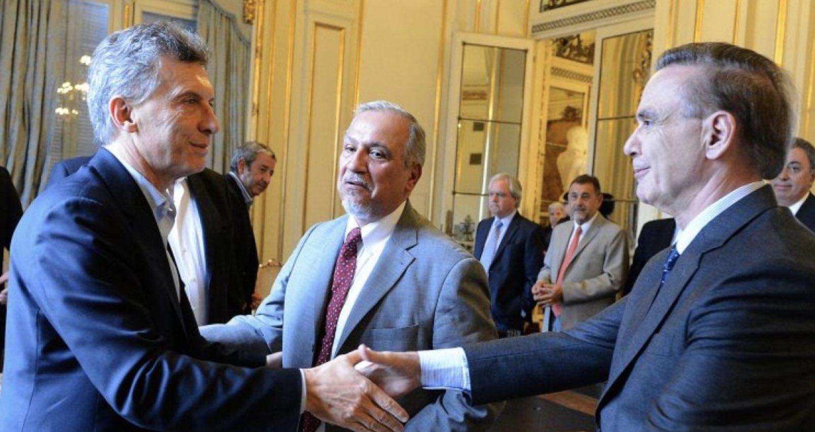 Pichetto y Mauricio Macri, Pichetto Vicepresidente