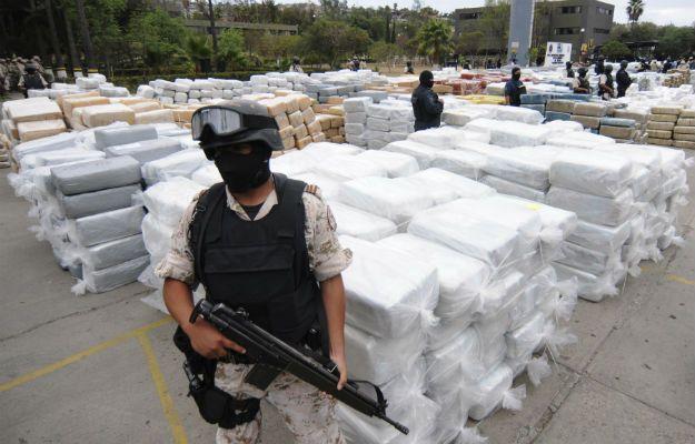 Contrabando de narcóticos, México, Cárteles, Estados Unidos