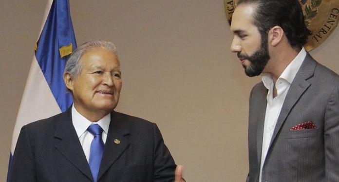 Salvador Sánchez Cerén, Nayib Bukele