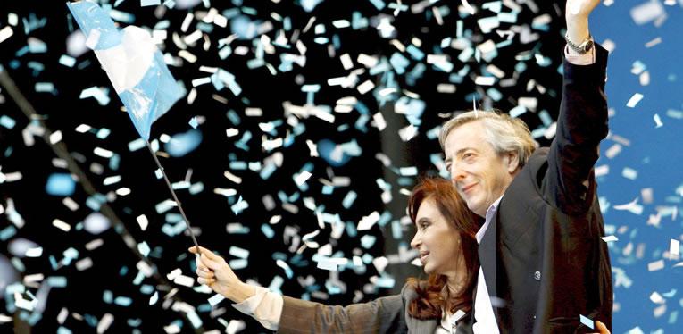 Néstor Kirchner, Cristina Fernández