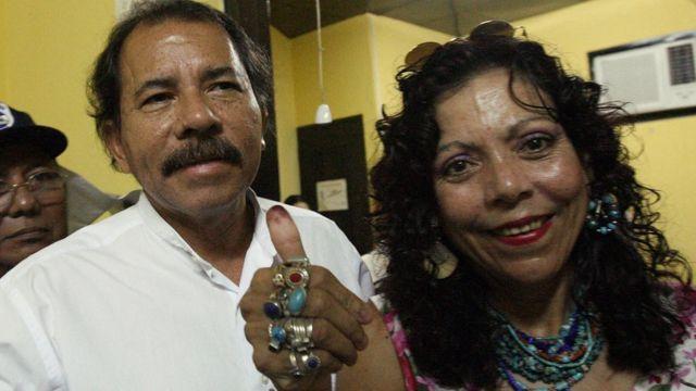 Daniel Ortega y Rosario Murillo, Nicaragua, Dictadura nicaragüense, Sandinismo, Terrorismo de Estado