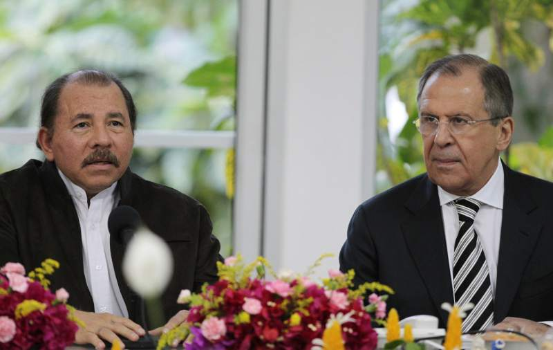 Nicaragua, Rusia, Daniel Ortega, Lavrov, Moscú