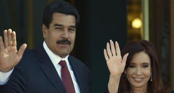 Nicolás Maduro, Cristina Kirchner, Genocidio, Represión, Dictadura